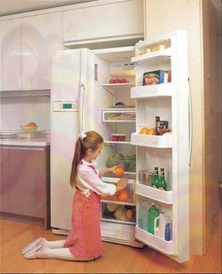 sử dụng tủ lạnh đúng cách và khử mùi hôi tủ lạnh