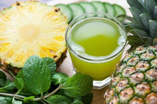 Giảm cân 'siêu tốc' bằng 5 loại nước từ rau xanh được máy ép trái cây xay nhuyễn 3 lần/tuần