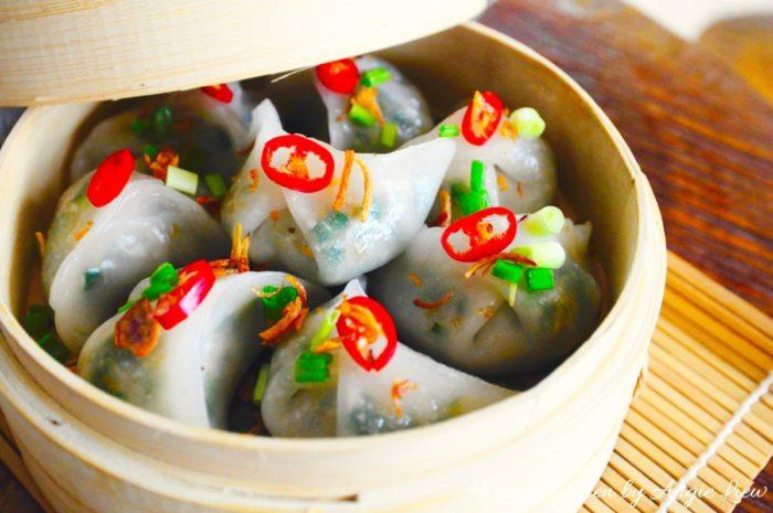 Cùng làm món há cảo hấp thơm ngon đặc biệt với máy đánh trứng