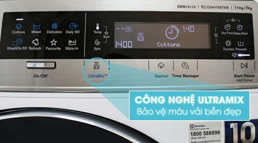 Máy giặt và sấy EWW14113 2