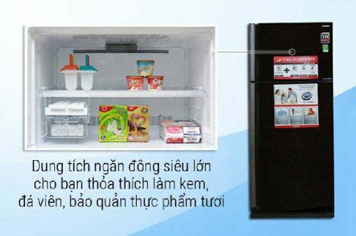 Tủ Lạnh Sharp SJ-XP590PG-BK 2