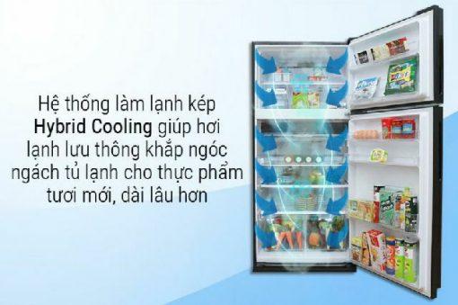 Tủ Lạnh Sharp SJ-XP630PG-BK 1