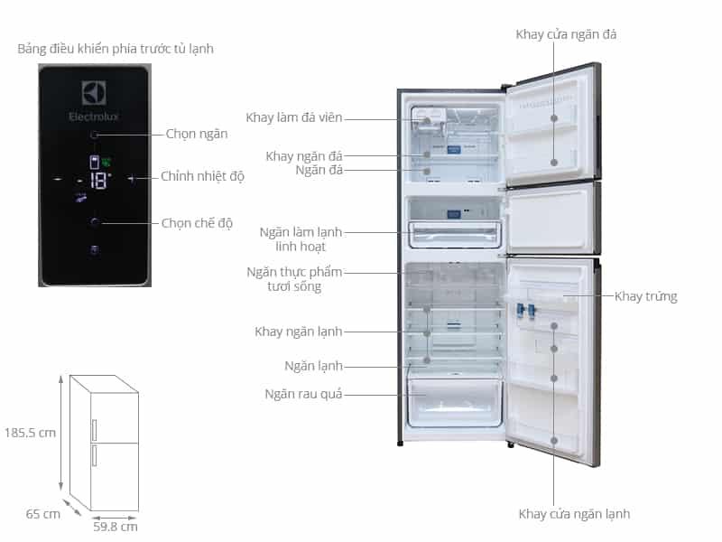 Tủ lạnh EME3500GG