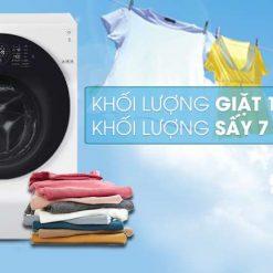 Máy giặt sấy LG Inverter 10.5 kg FG1405H3W1 Mẫu 2019