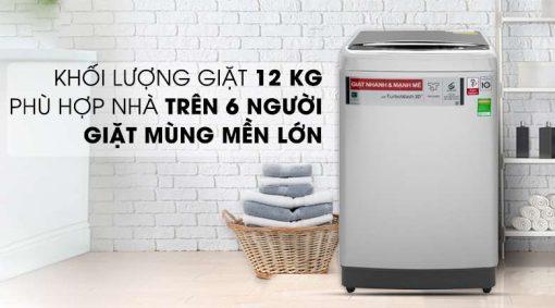 Máy giặt LG Inverter 12 kg TH2112SSAV Mẫu 2019