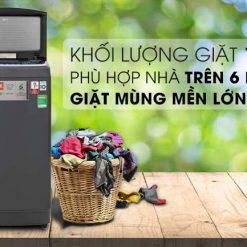 Máy giặt LG Inverter 13 kg TH2113SSAK Mẫu 2019