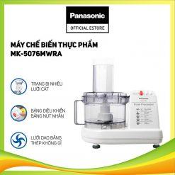 Máy Chế Biến Thực Phẩm Panasonic MK-5076MWRA - Hàng Chính Hãng