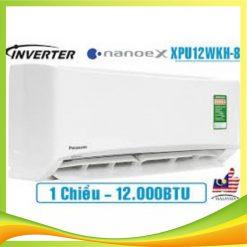 Điều hòa Panasonic 12000BTU 1 chiều Inverter R32 Tiêu chuẩn CS/CU-XPU12WKH-8