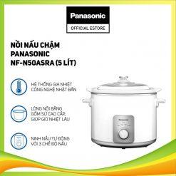 Nồi nấu chậm Panasonic NF-N50ASRA (5 Lít) - Hàng chính hãng