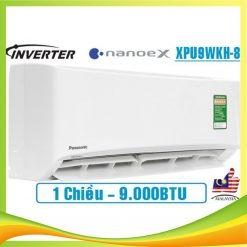 Điều hòa Panasonic 9000BTU 1 chiều Inverter CS/CU-XPU9WKH-8