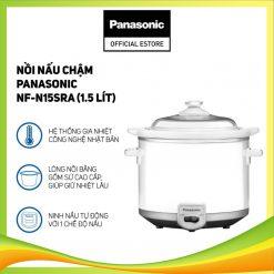 Nồi nấu chậm Panasonic NF-N15SRA (1.5 Lít) - Hàng chính hãng