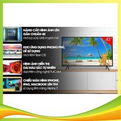 Tivi Samsung 43 inch 4K Smart TV UA43RU7200KXXV