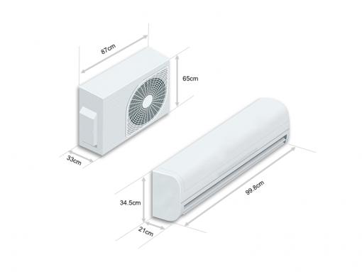 Điều Hòa Lg Inverter 2 Chiều 24000btu (2.5hp) Dualcool B24end