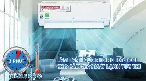 Điều Hòa Inverter LG V13ENS - 1 chiều 12000 BTU Thái Lan