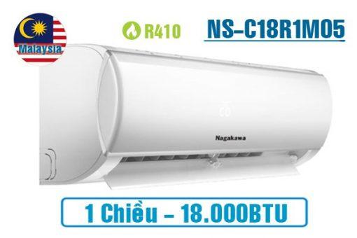 Điều hòa Nagakawa 18000BTU 1 chiều NS-C18R1M05