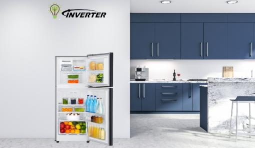 Tủ lạnh Samsung Inverter 208 lít RT20HAR8DBU/SV