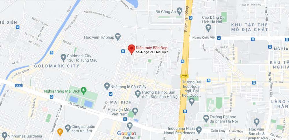Ban Do Toi Dien May Ben Dep