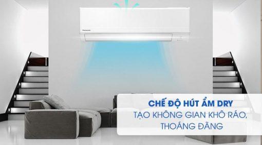 Chế độ hút ẩm Điều hòa Panasonic 1 chiều 1 Hp 9000BTU CS-N9WKH-8M