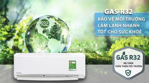 Gas R32 - làm lạnh nhanh, hơi lạnh sâu, bảo vệ tần ozon