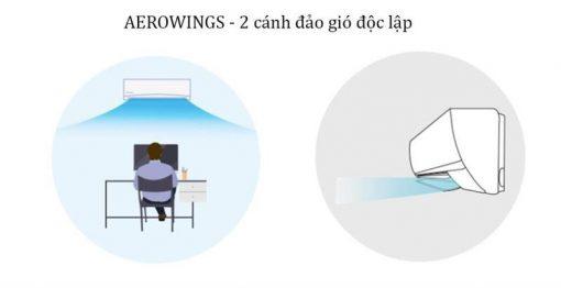 Aerowings - 2 cánh đảo gió độc lập