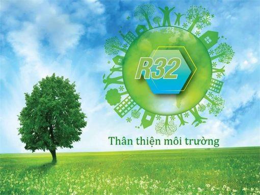 Môi chất lạnh thế hệ mới R-32 bảo vệ môi trường