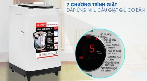 Máy giặt Sharp 8.2 Kg ES-W82GV-H
