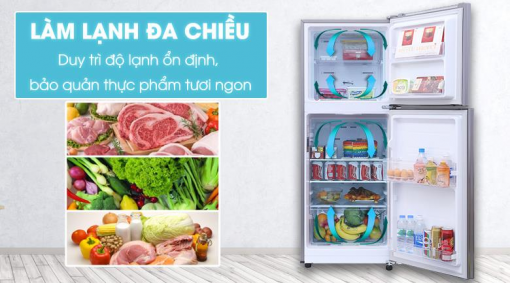Tủ lạnh Samsung Inverter RT19M300BGS - 208L Digital