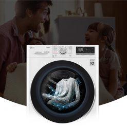 Máy giặt cửa ngang LG AI DD 9 kg FV1409S4W
