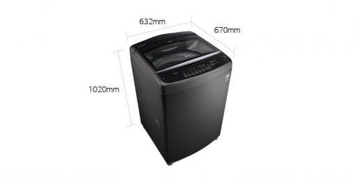 Máy giặt cửa trên LG Inverter 15.5 Kg T2555VSAB