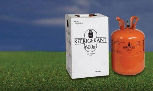 Gas làm lạnh sử dụng cho tủ là gas R600a thân thiện với môi trường.