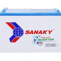 Tủ đông Inverter Sanaky VH-3899K3, cánh kính cong 260 lít