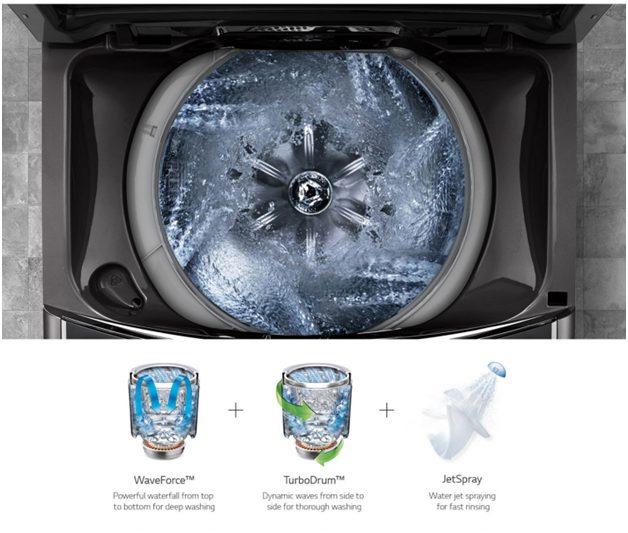Máy giặt LG Inverter 22 kg TH2722SSAK Mẫu 2019