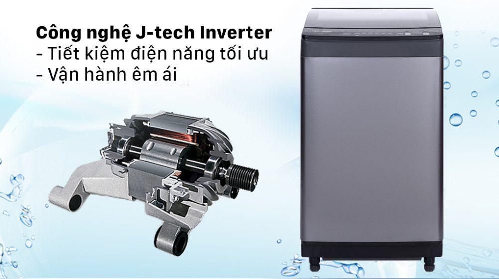 Máy giặt cửa trên Sharp Inverter 9.5 Kg ES-X95HV-S